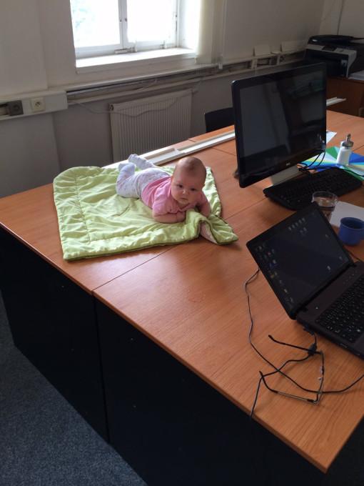 Lily Anička ve školícím středisku