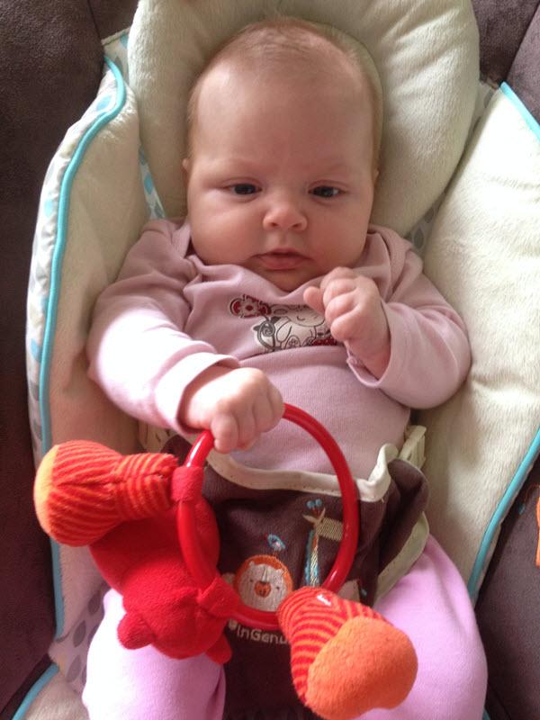 Lily ve dvanácti týdnech