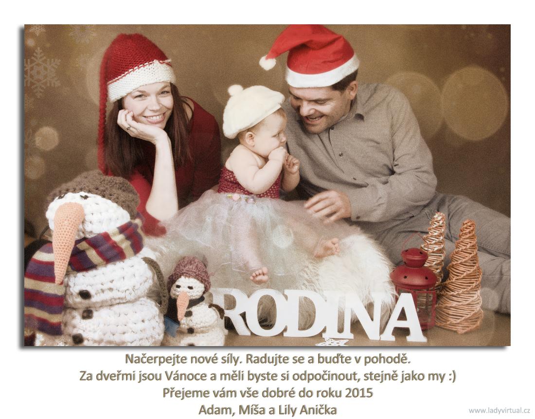 Krásné Vánoce přeje Ladyvirtual