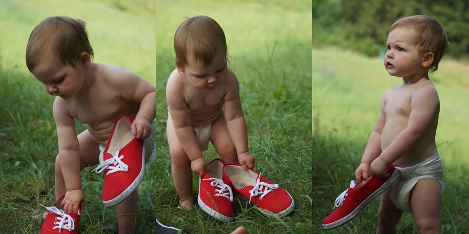 Lilinka a červené boty