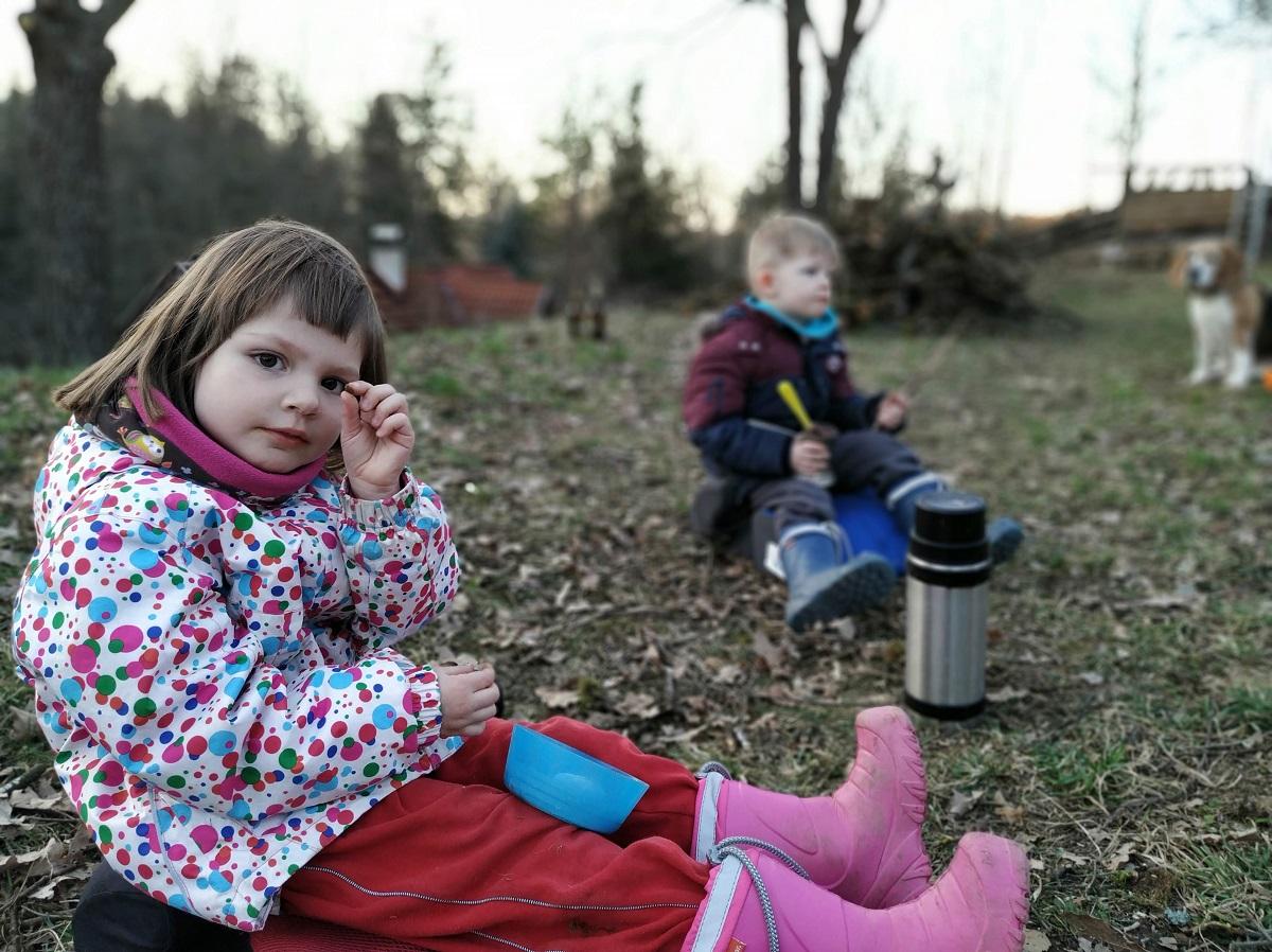 Venkovní aktivity s dětmi