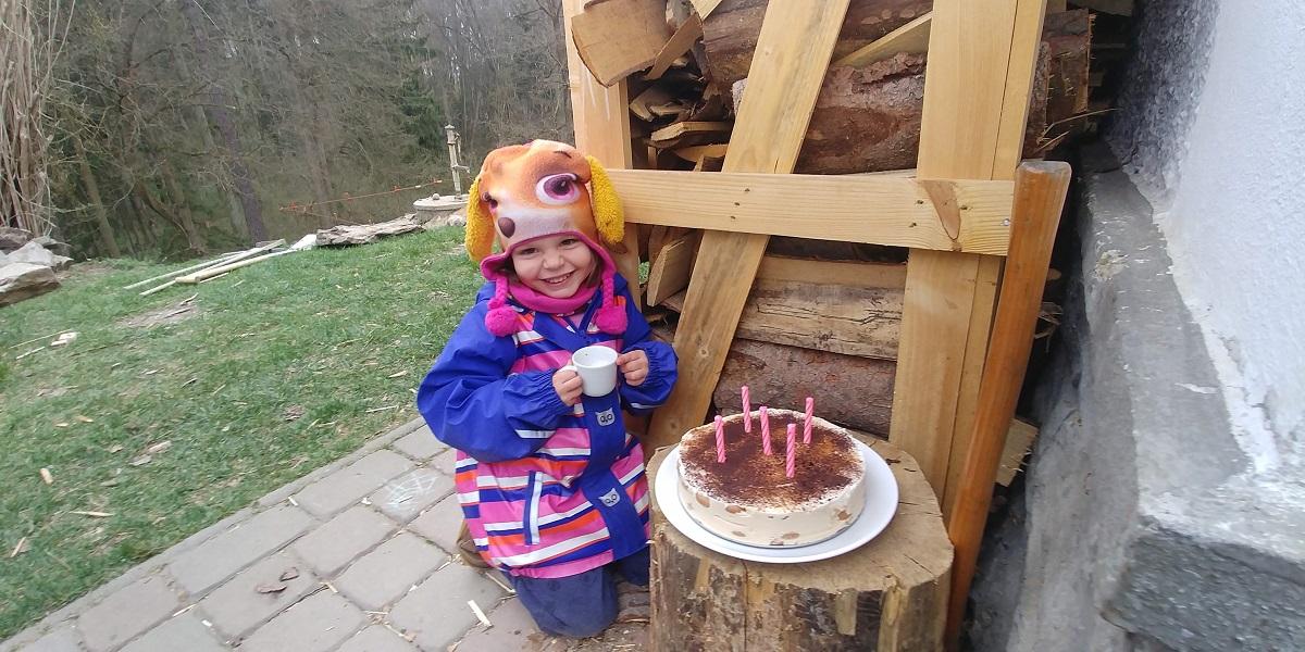 Tiramisu a oslava 5 let